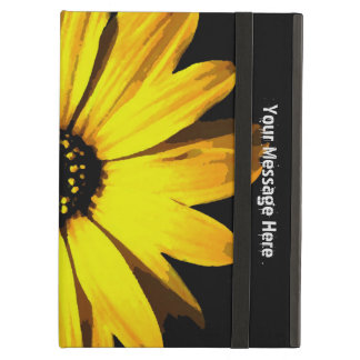 Yellow Neon Daisy iPad Air Cover