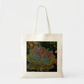 Yellow Neon Rose Bag
