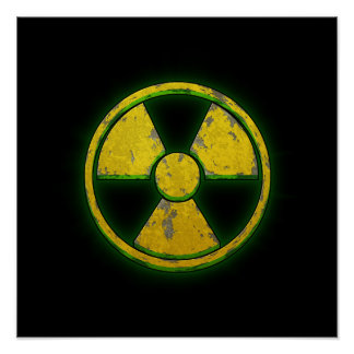 Yellow Nuke Poster