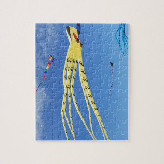 Yellow Octopus Kite Jigsaw Puzzle