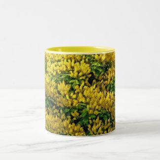 Yellow of Life Two-Tone Coffee Mug