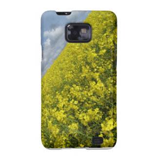 Yellow Oilseed agaisnt blue and cloudy sky Samsung Galaxy S2 Case