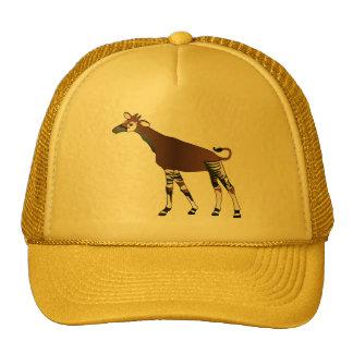Yellow Okapi Hat