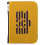 Yellow Old School Kindle 3 Case