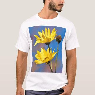 Yellow on Blue T-Shirt