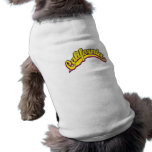 Yellow on Magenta Pet Clothes