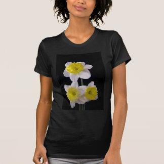 Yellow on White Daffodil T-Shirt