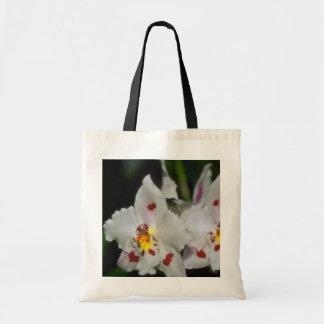 Yellow Oncidium flowers Budget Tote Bag