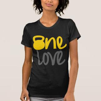 """Yellow """"One Love"""" Kettlebell T-shirt"""