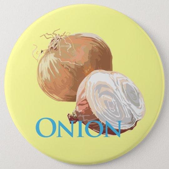 Yellow Onion Button