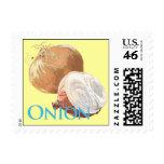 Yellow Onion Postage Stamp