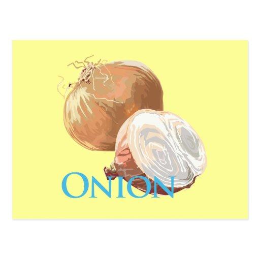Yellow Onion Postcards