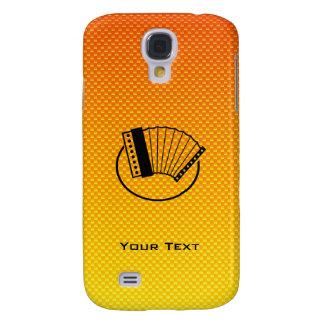 Yellow Orange Accordion HTC Vivid / Raider 4G Cover
