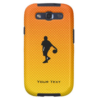 Yellow Orange Basketball Samsung Galaxy S3 Covers
