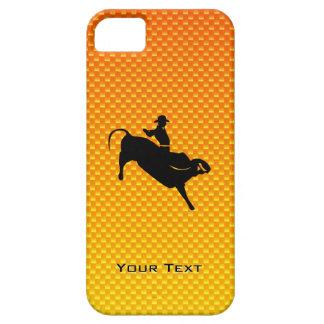Yellow Orange Bull Riding iPhone SE/5/5s Case