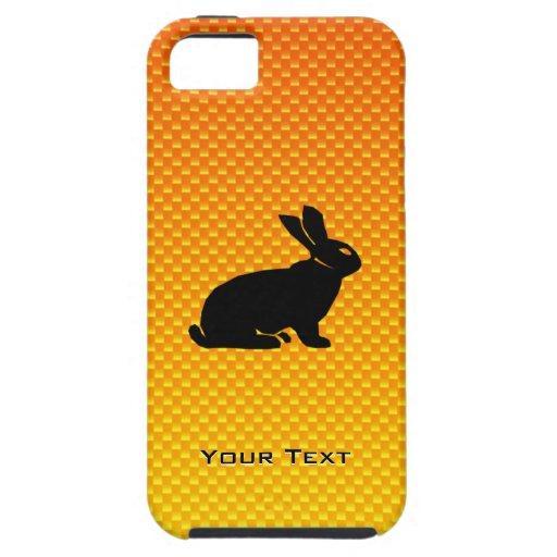 Yellow / Orange Bunny iPhone 5 Covers