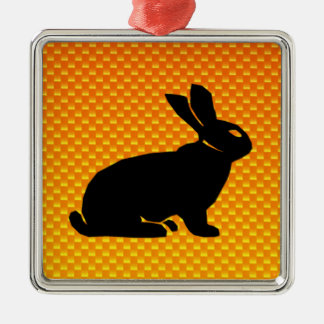 Yellow / Orange Bunny Ornament