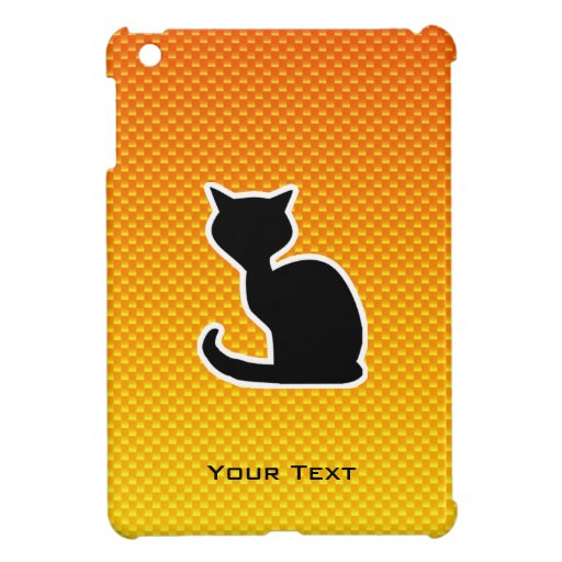 Yellow Orange Cat Case For The iPad Mini