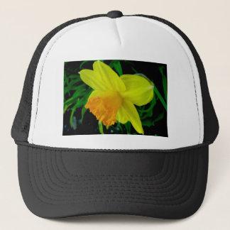Yellow Orange Daffodil Hat