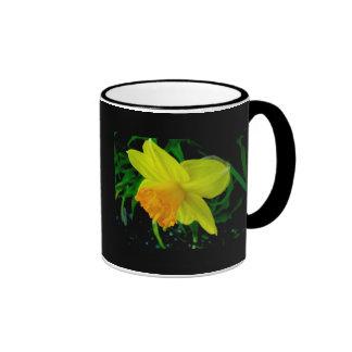 Yellow Orange Daffodil Mug