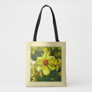 Yellow orange Daffodils 02.1g Tote Bag