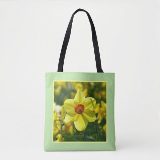 Yellow orange Daffodils 02.2y Tote Bag