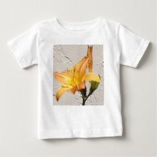 Yellow-Orange Day Lily Baby T-Shirt