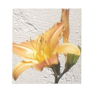 Yellow-Orange Day Lily Notepad