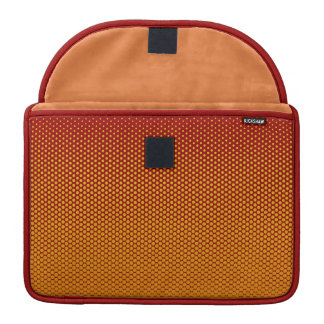 Yellow-Orange dots on ANY color custom sleeve Sleeves For MacBook Pro