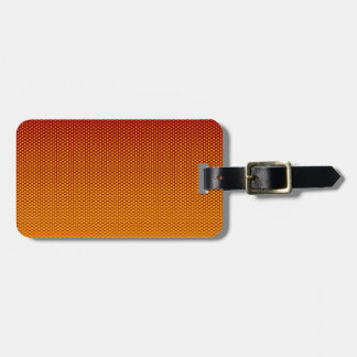 Yellow-Orange dots on ANY color custom tag