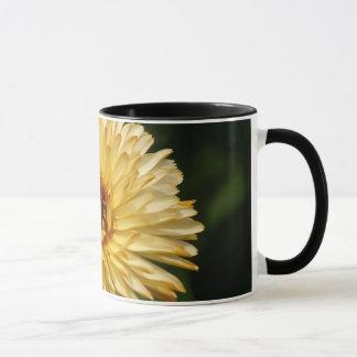 Yellow Orange Flower 15 Oz Cup