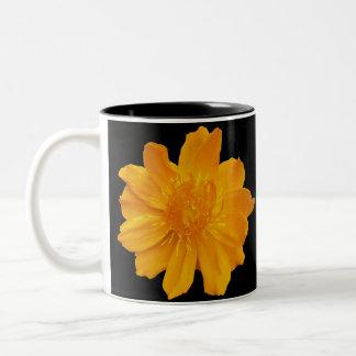 Yellow Orange Flower mug