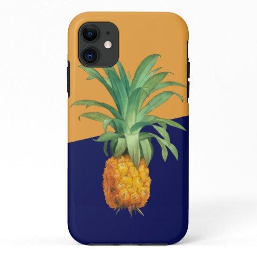 Yellow Orange Green Pineapple iPhone 11 Case