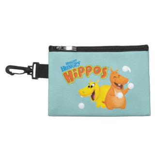 Yellow & Orange Hippo Accessory Bag