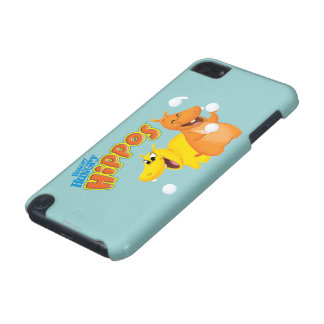 Yellow & Orange Hippo iPod Touch 5G Covers