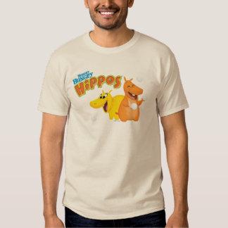 Yellow & Orange Hippo Shirt