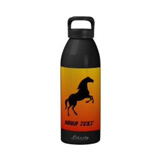 Yellow Orange Horse Drinking Bottles