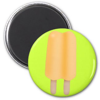 Yellow/Orange Ice Pop Magnet