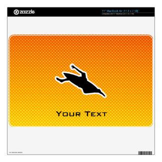 """Yellow Orange Kayaking Skin For 11"""" MacBook Air"""