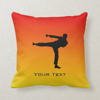 Yellow Orange Martial Arts Pillows