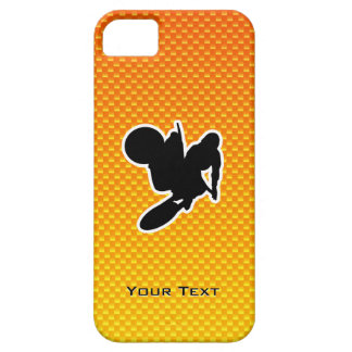 Yellow Orange Motocross Whip iPhone SE/5/5s Case
