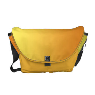 Yellow & Orange Ombre Courier Bag