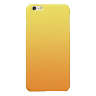 Yellow & Orange Ombre Glossy iPhone 6 Plus Case