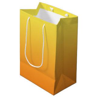 Yellow & Orange Ombre Medium Gift Bag