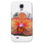Yellow Orange Orchid Flower Picture Samsung Galaxy S4 Covers