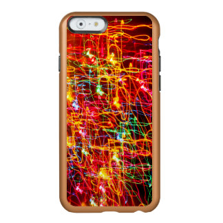 Yellow Orange Red Green Blue Pink Abstract Lights Incipio Feather® Shine iPhone 6 Case