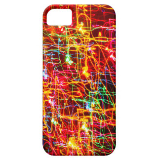 Yellow Orange Red Green Blue Purple Abstract Light iPhone SE/5/5s Case