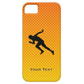 Yellow Orange Running iPhone SE/5/5s Case