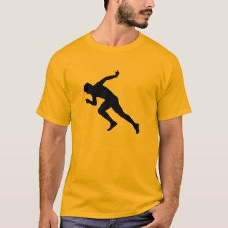 Yellow Orange Running T-Shirt