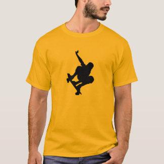 Yellow Orange Skateboarding T-Shirt